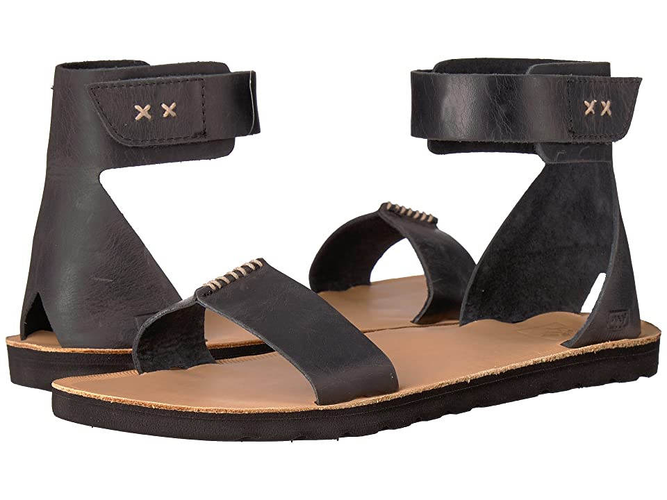 Reef Voyage Hi (Black) Women's Sandals