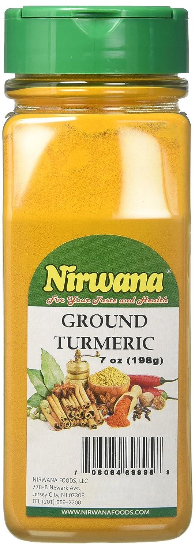 Nirvana Ground Turmeric Free Shipping Max 51% OFF Cheap Bargain Gift gm Grams 198