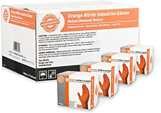 gloveworks orange nitrile