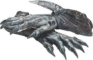 Alien Vs Predator: Black Predator Deluxe Adult Latex Hands, As Shown, One Size