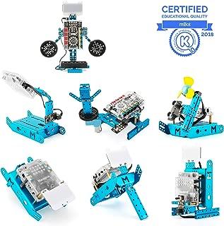 Makeblock mBot & mBot Ranger Add-on Pack el Paquete de complementos Perception Gizmos, Robot 7-en-1 Paquete Adicional, 7 Formas