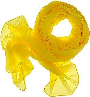 DOLCE ABBRACCIO by RiemTEX Schal Damen SWEET LOVE Stola Chiffon Tuch in 30 Unifarben Schals und Tücher Halstücher XXL Chiffontücher Halstuch für jede Jahreszeit
