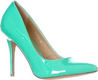 Best mint color high heels Reviews