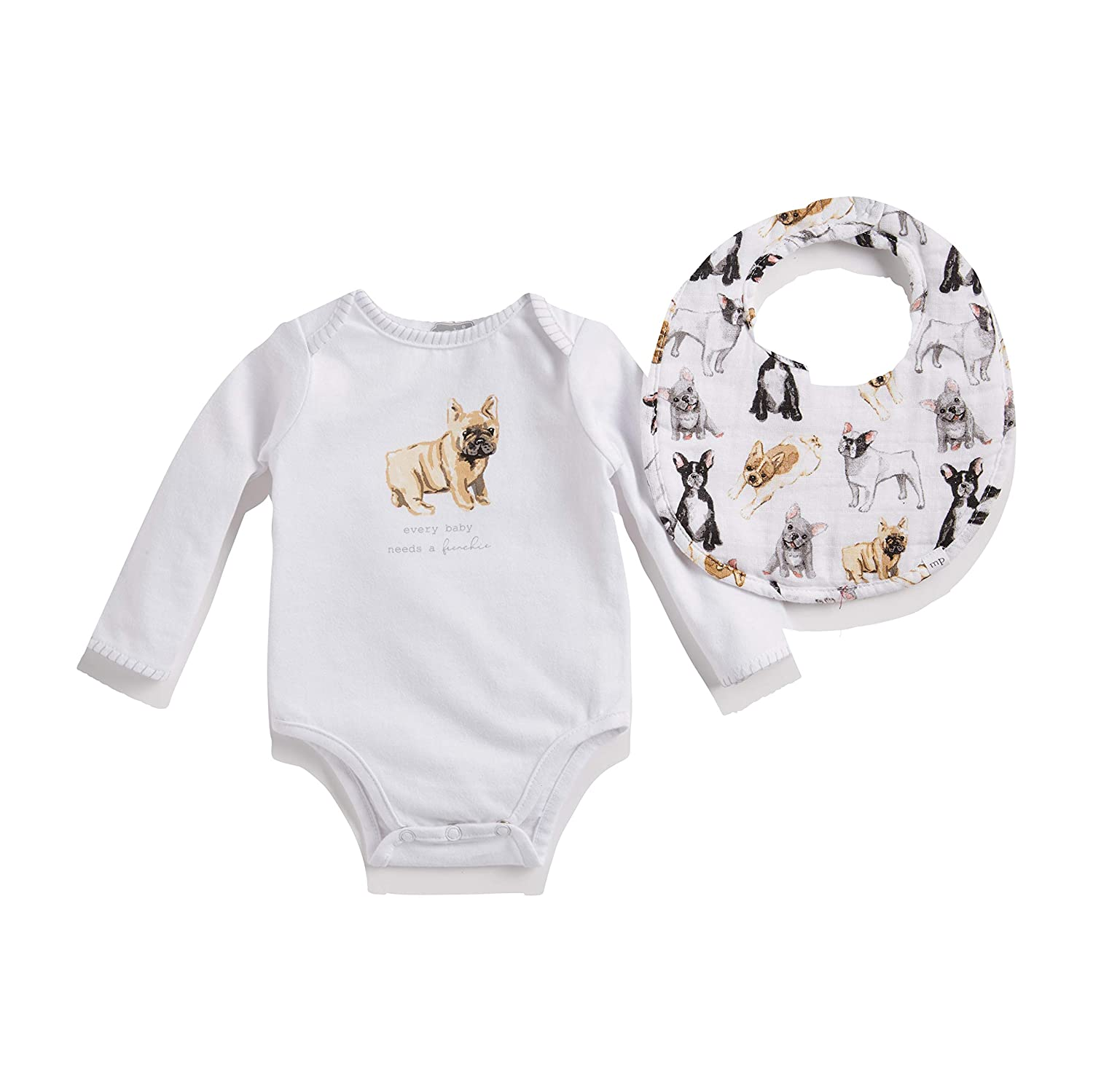 Frenchie Crawler and BIB Limited time cheap sale Max 82% OFF Set