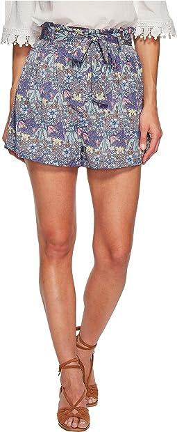 Bishop + Young - Printed Paperbag Shorts