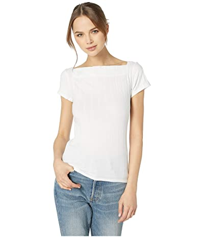 Free People Ahoy Solid Tee (Ivory) Women