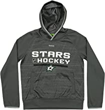 Outerstuff NHL Youth Boys Dallas Stars Pullover Fleece Hoodie, Gray