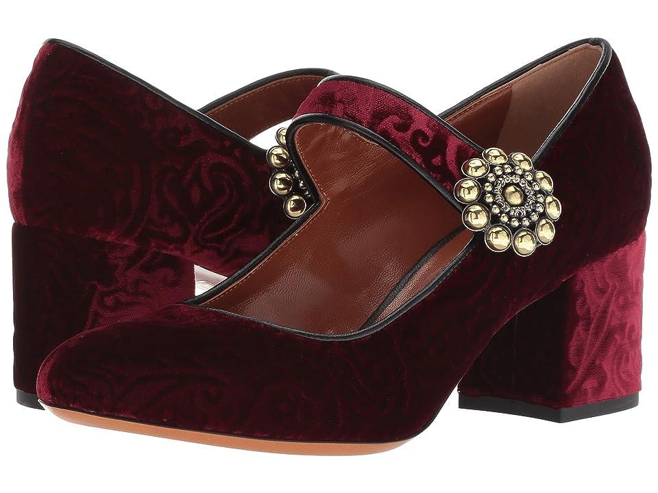Etro Velvet Heel (Redd) High Heels