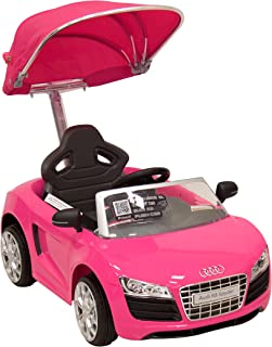 Prinsel Vehículo Push Car Audi Rosa