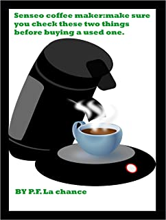 Senseo coffee maker:make sure you check these 2 things before buying a used one.