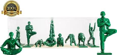 Yoga Joes - Green Army Men Toys