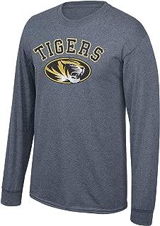 NCAA Long Sleeve T Shirt Charcoal Vintage