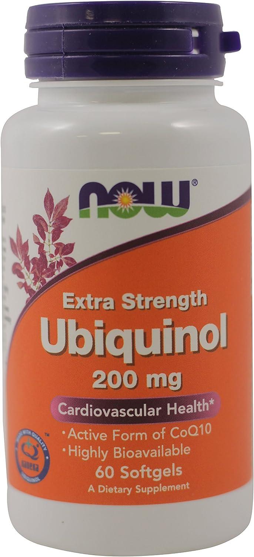 NOW Foods Ubiquinol - 200 mg - 60 Softgels