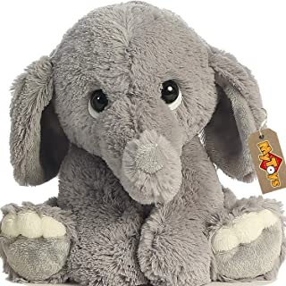 Elephant Plush Toy for Kid and Babies Nursery Room Decoration Stuffed Elephant Animal Plush
