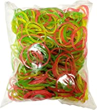 ZYME® Rubber Band for Home, Kitchen and Office   Size - 2 inch   Pack of 50 Gram   Multicolored
