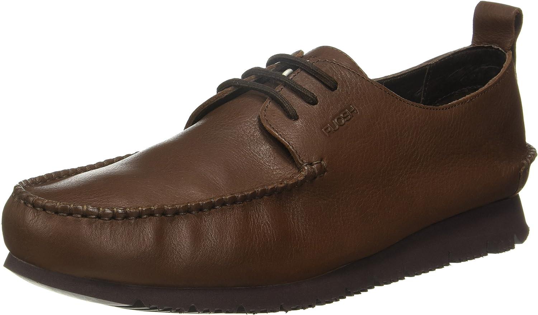 Ruosh Men's Brown Boots-10 UK India (44 EU)(Silver AW 16 01 A)