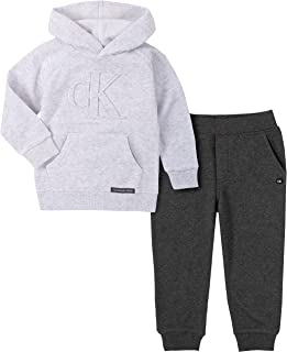 Calvin Klein Juego de 2 Piezas con Capucha Juego de Pantalones para Niños