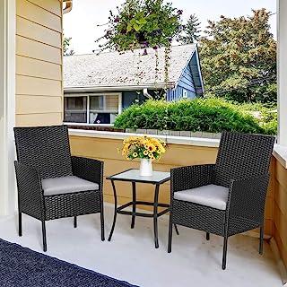 amazon com patio conversation sets
