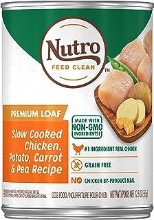 Nutro Premium LOAF Adult Natural Wet Dog Food, (12) 12.5 oz. Cans