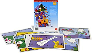 American Educational SR-1171 Pattern Block Picture Cards Set, Set B (24 Piece Set)