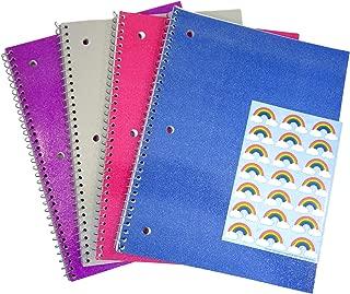Best glitter spiral notebook Reviews