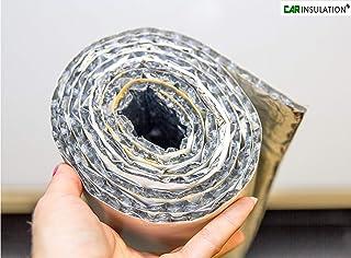 argent Panneau isolant en feuille daluminium pour pare-huile de foyer