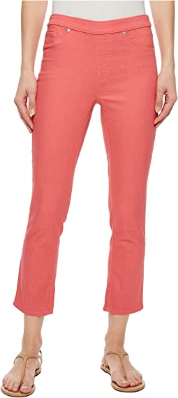 "Pull-On 25"" Dream Jean Capris in Rose Glow"