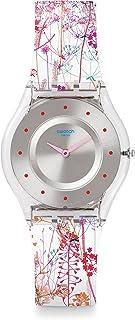Swatch Orologio da Donna Analogico al Quarzo con Cinturino in Plastica – SFE102