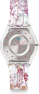 Swatch Women's Analogue Quartz Watch with Plastic Strap – SFE102