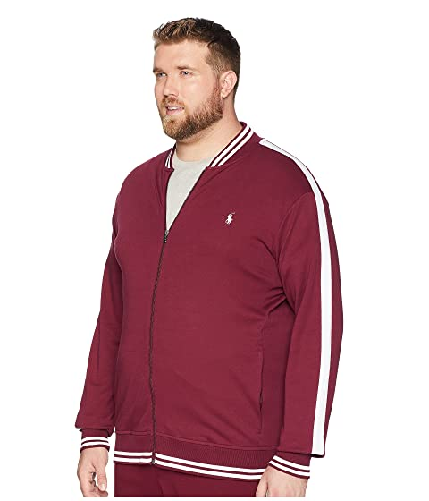 Buy Cheap Looking For Shopping Online Polo Ralph Lauren Big & Tall Interlock Track Bomber Jacket Classic Wine 2lZf5