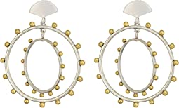 Lucky Brand - Beaded Hoop Earrings