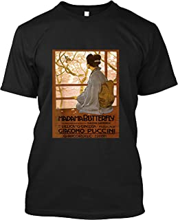 Vintage Poster - Madama Butterfly Retro T-Shirt