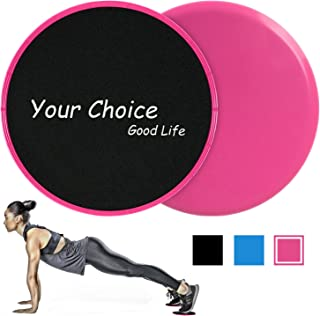 Your Choice Sliders Fitness Equipment Floor Sliders Exercise Core Gliders Gliding Discs for Full Body Workout