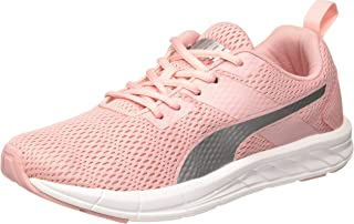 Puma Women's Meteor Nu Wn S Idp Bridal Rose-Silver-pu Running Shoes