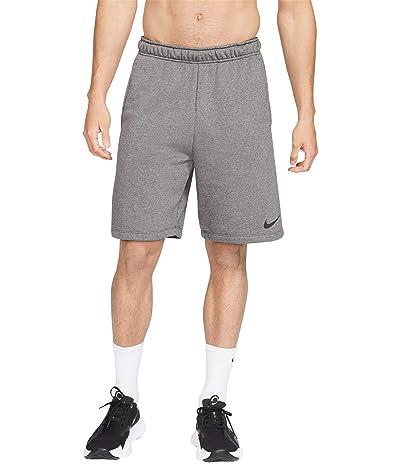 Nike Dry Shorts Fleece (Charcoal Heather/Black) Men