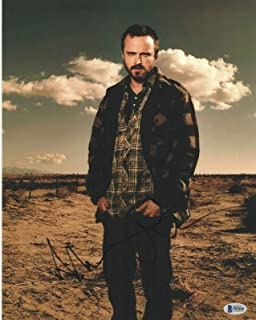 Aaron Paul Signed 11x14 Photo Breaking Bad Beckett Bas Autograph Auto A - Beckett Authentication