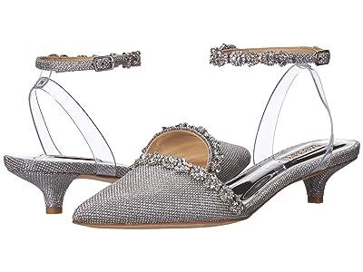 Badgley Mischka Addison (Silver Diamond Textile) Women