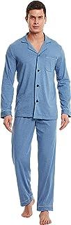 DAVID ARCHY Men's Pyjamas Sets/Men's Lounge Pants Men's Loungewear Set, Breathable and Comfortable Loungewear