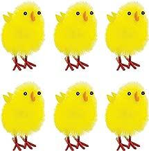 Amscan 390882 Easter Chenille Chicks, 1 1/2