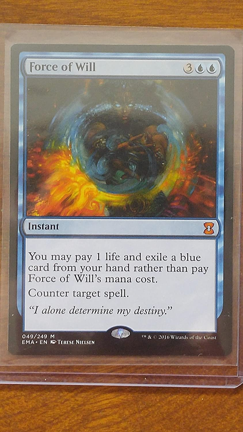 Ahorre hasta un 70% de descuento. Magic  the Gathering Gathering Gathering - Force of Will (040 249) - Eternal Masters - Foil by Magic  the Gathering  el mas reciente