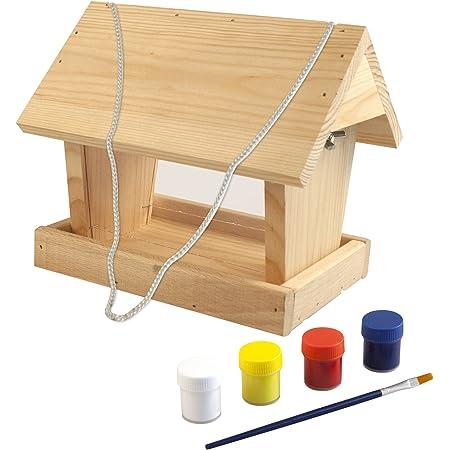 Vogelhaus Bemalen Kindergeburtstag Bastelidee 14