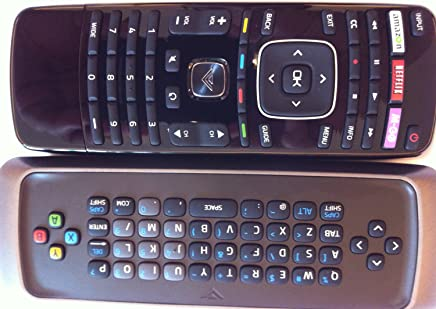 New Smart TV Remote control with Qwerty dual side keyboard amazon for VIZIO TV