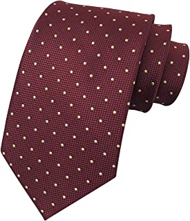 Men Modern Tartan Formal Ties Checks Plaid Gingham Pattern Woven Necktie