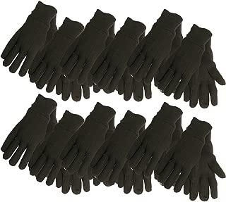 Best black jersey gloves Reviews