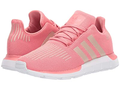 adidas Originals Kids Swift Run J (Big Kid) (Tactile Rose/Copper/Black) Girls Shoes
