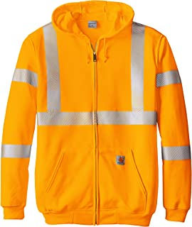 Carhartt Mens Big & Tall High Visibility Class 3 Sweatshirt