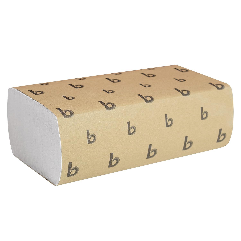 9 1//8W X 9 1//2L Natural We Multi-Fold 4000//Carton 10Green Boardwalk Green Folded Paper Towels