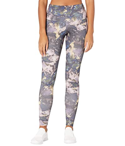 Onzie Agave High Rise Leggings (Purple Marble) Women