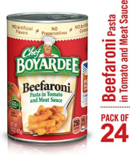 Chef Boyardee Beefaroni, 15 oz, 24 Pack