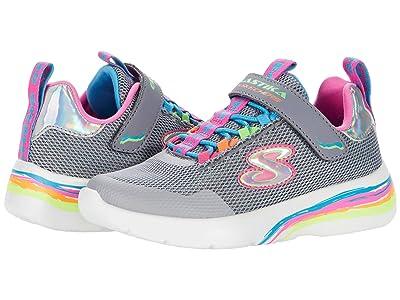 SKECHERS KIDS Sport Dynamight 2.0 Prism Glam 302465L (Little Kid/Big Kid) (Gray/Multi) Girl
